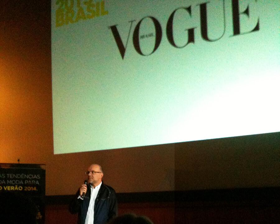 Giovanni Frasson no Workshop de Tendências do Verão 2014 no VFNO 2013 em Curitiba
