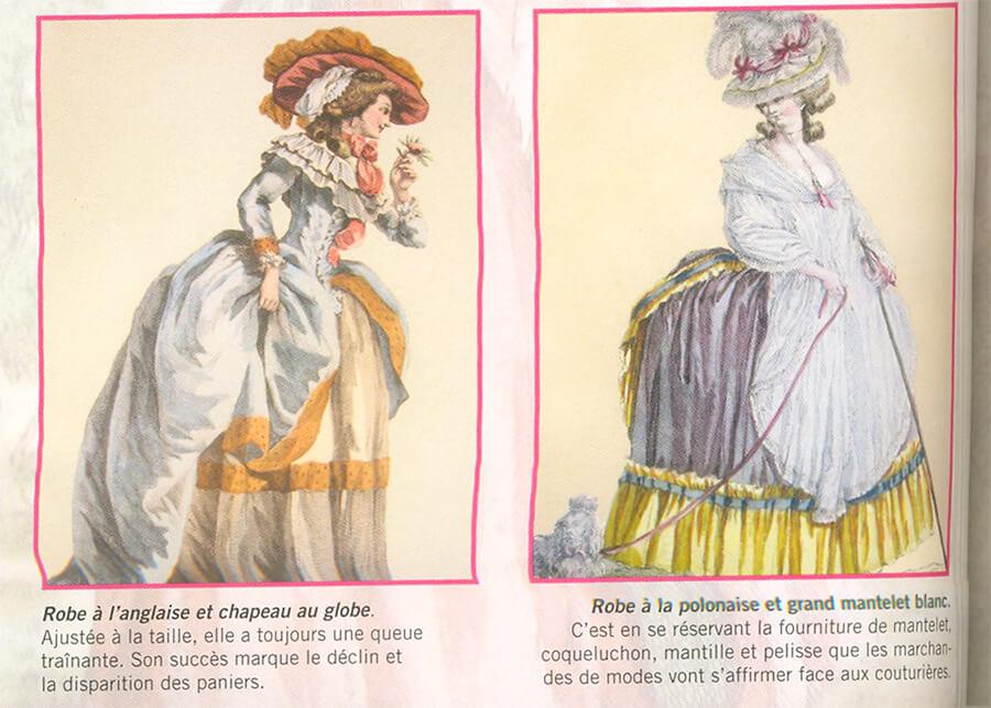 A moda no tempo de Maria Antonieta