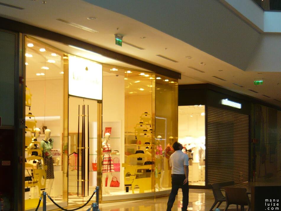 Kate Spade abre loja no shopping Pátio Batel em Curitiba