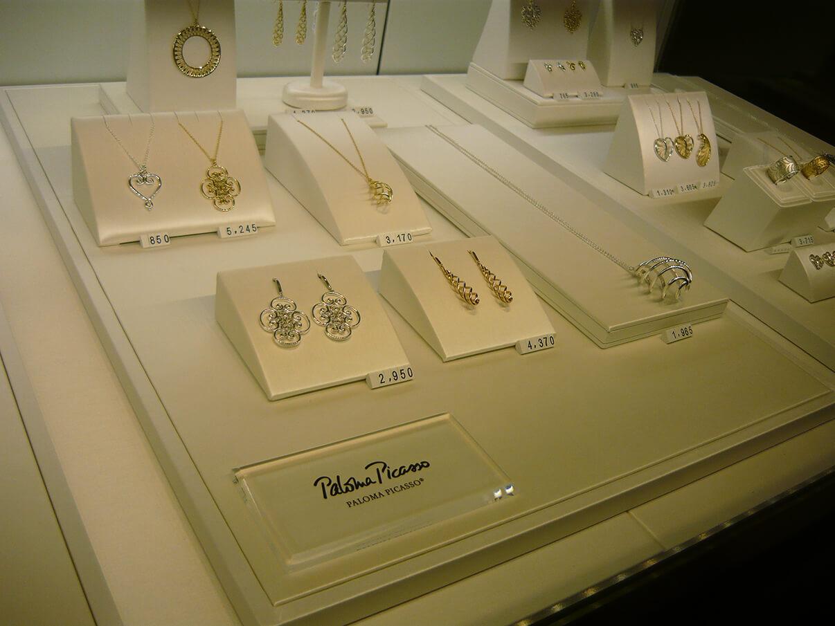 Joias Paloma Picasso para a Tiffany & Co. em Curitiba