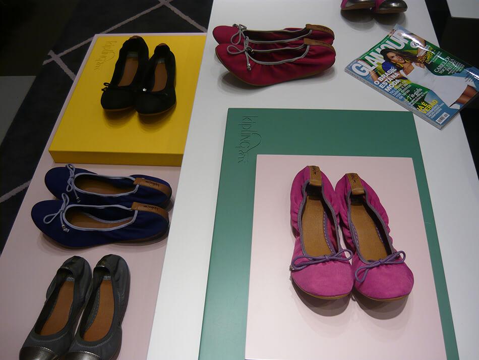 Loja da Kipling no shopping Pátio Batel em Curitiba