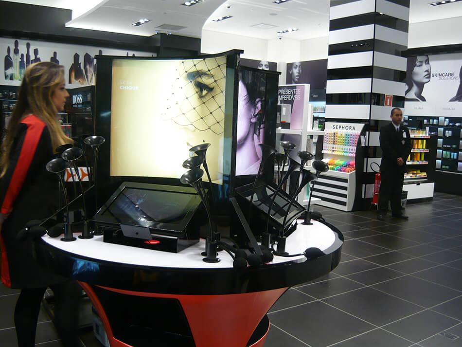 Sensorium - Sephora abre loja em Curitiba no Shopping Pátio Batel
