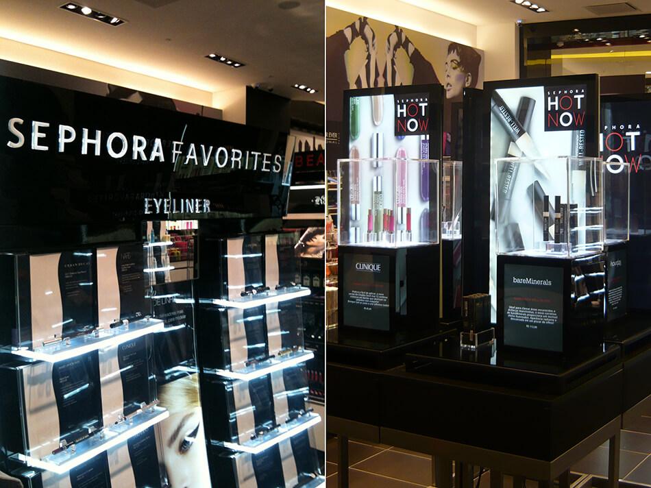Sephora abre loja em Curitiba no Shopping Pátio Batel