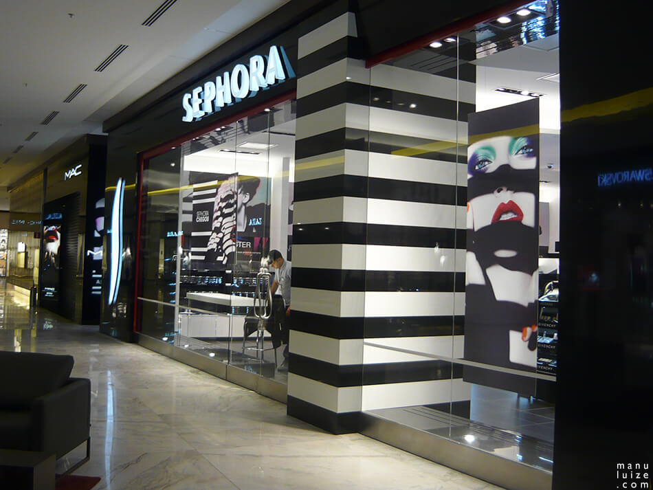 Sephora abre loja no shopping Pátio Batel em Curitiba