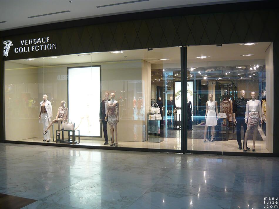 Versace abre loja no shopping Pátio Batel em Curitiba