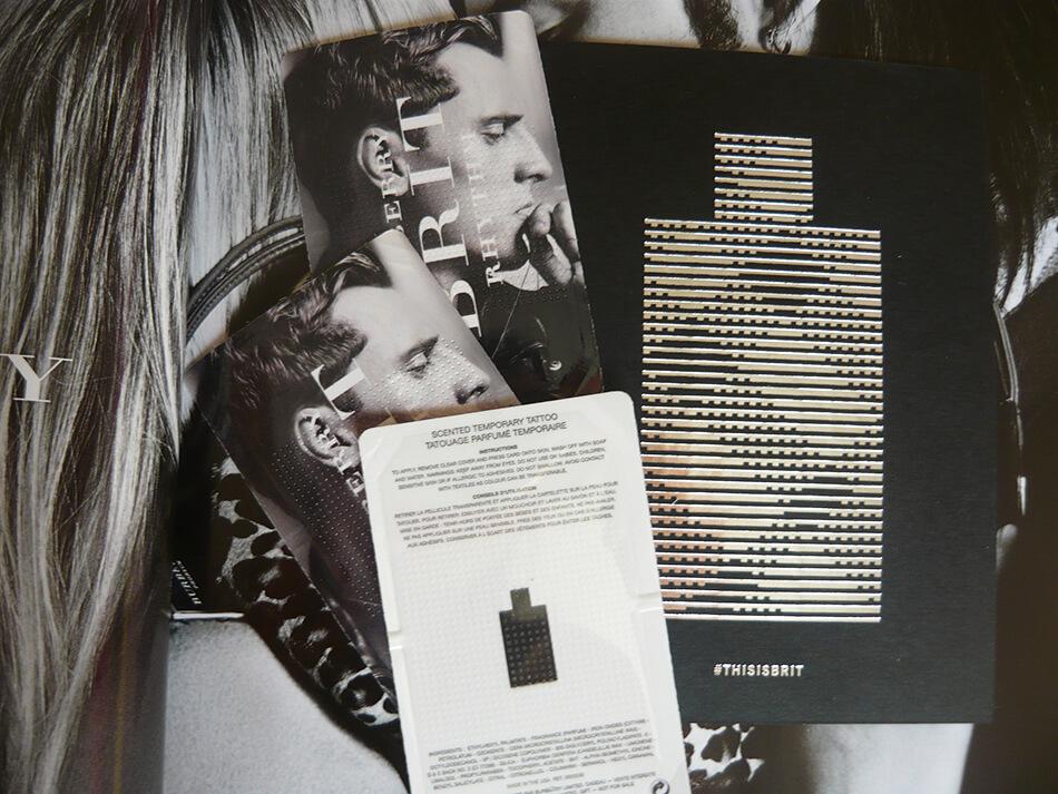 Burberry Brit Rhythm: Tatuagem perfumada