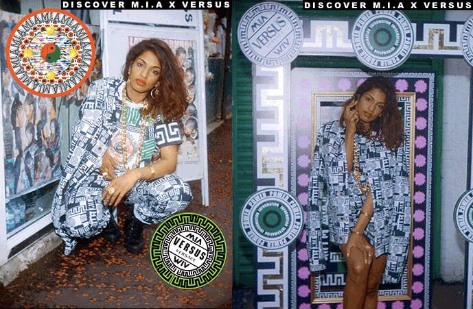 M.I.A cria uma capsule collection para a Versus Versace
