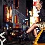 Rita Ora estrela a campanha de Resort 2014 da DKNY