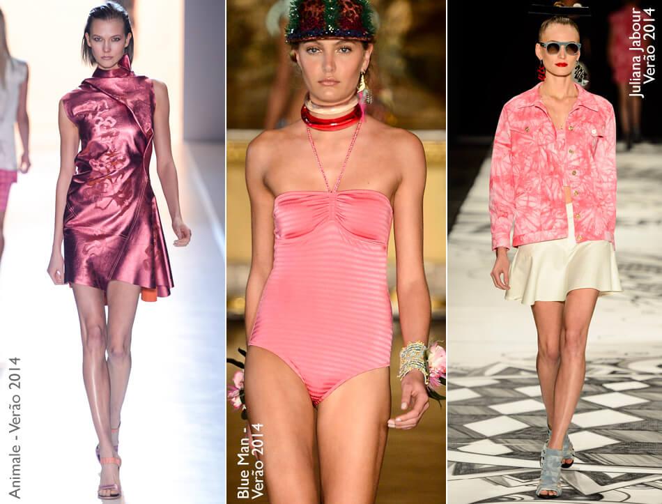 Think Pink: Tendência - o rosa de volta à moda