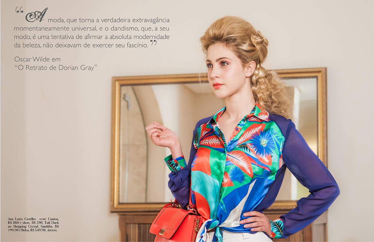 Editorial moda para todas as idades - Revista M MAG - Primavera 2014
