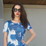 T-shirt Manu Luize para Glitterati