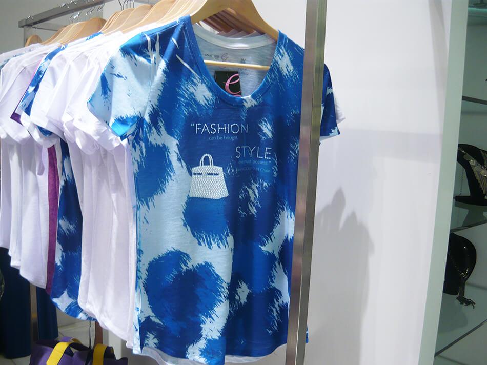 Manu Luize cria T-Shirt para a Glitterati