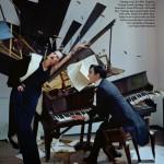 Kate Moss e John Galliano na Vogue UK Dezembro 2013