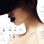"Editorial de maquiagem ""Berry Blaze"" da TWO"