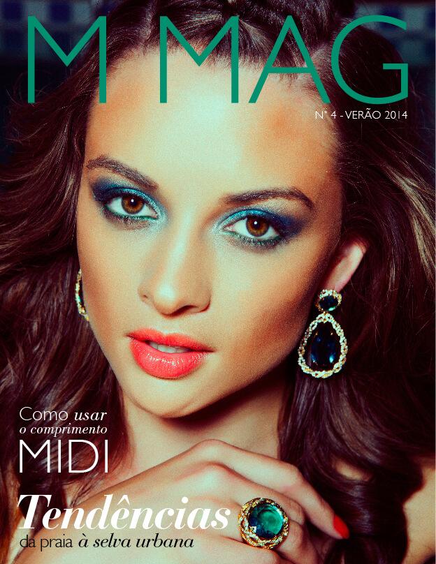 Capa da revista M MAG de Verão 2014