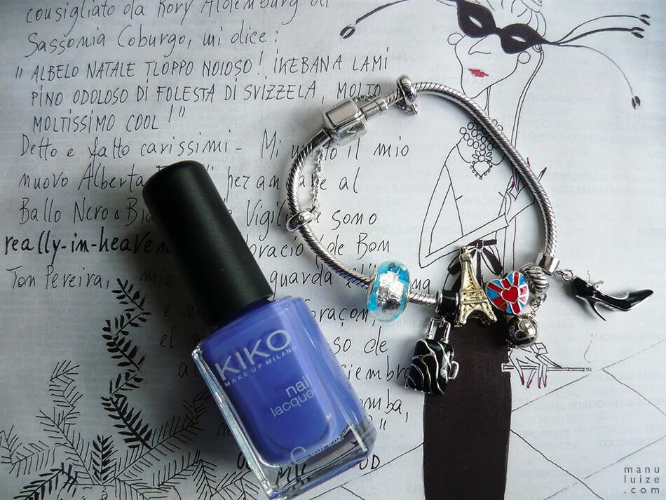 Esmalte Kiko Make Up Milano: Cor 337 Periwinkle Violet
