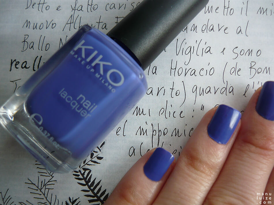 Esmalte Kiko Make Up Milano: Cor