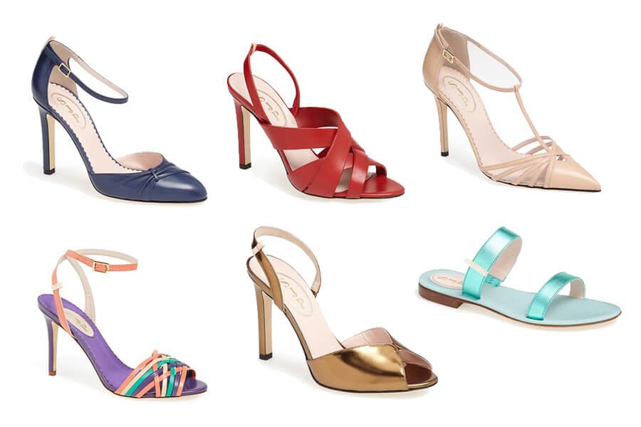 Modelos de sapatos da linha de Sarah Jessica Parker