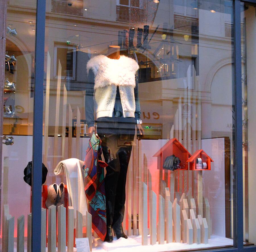 Vitrine da Hermès em Strasbourg - França