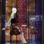 Vitrines das lojas em Paris