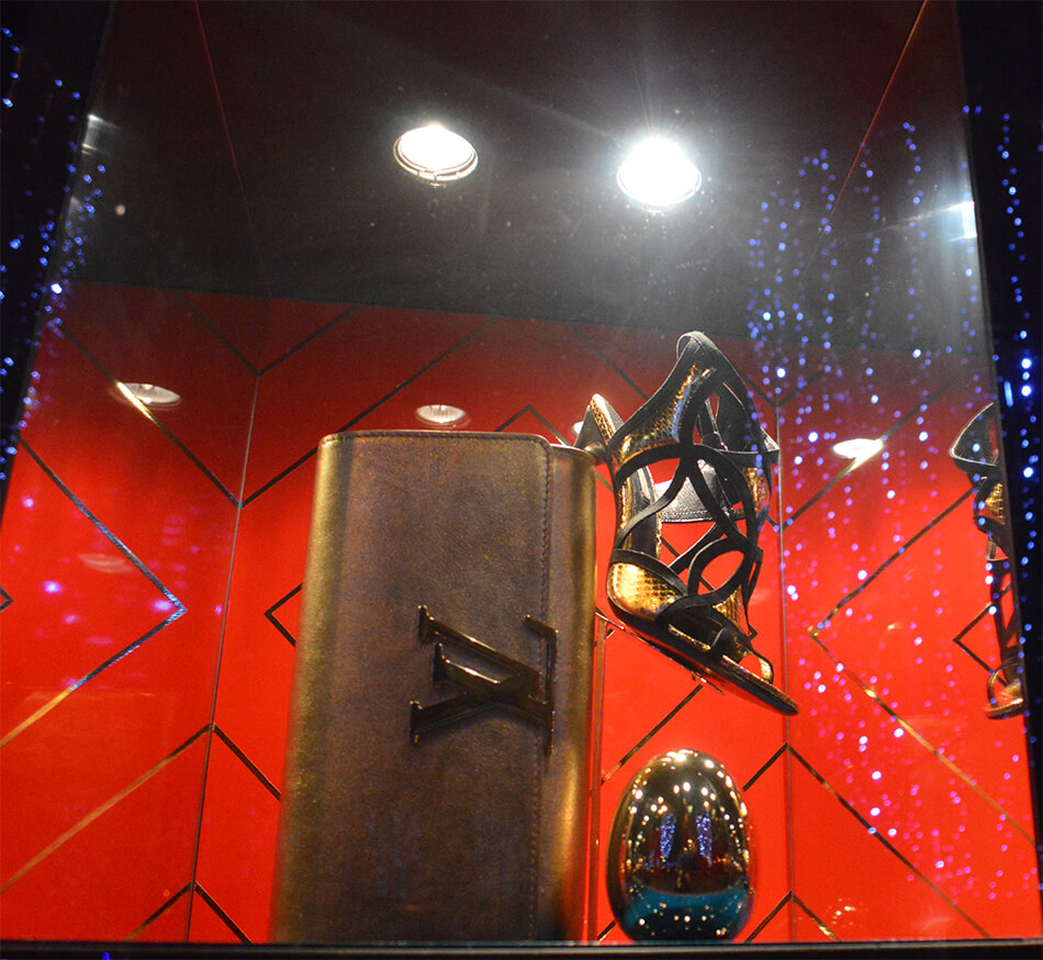 Vitrine Louis Vuitton em Paris