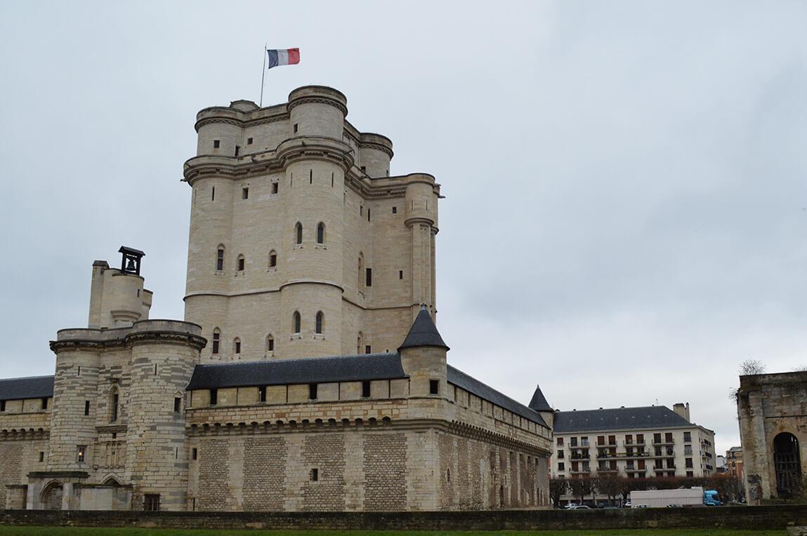 Chateau de Vincennes em Paris