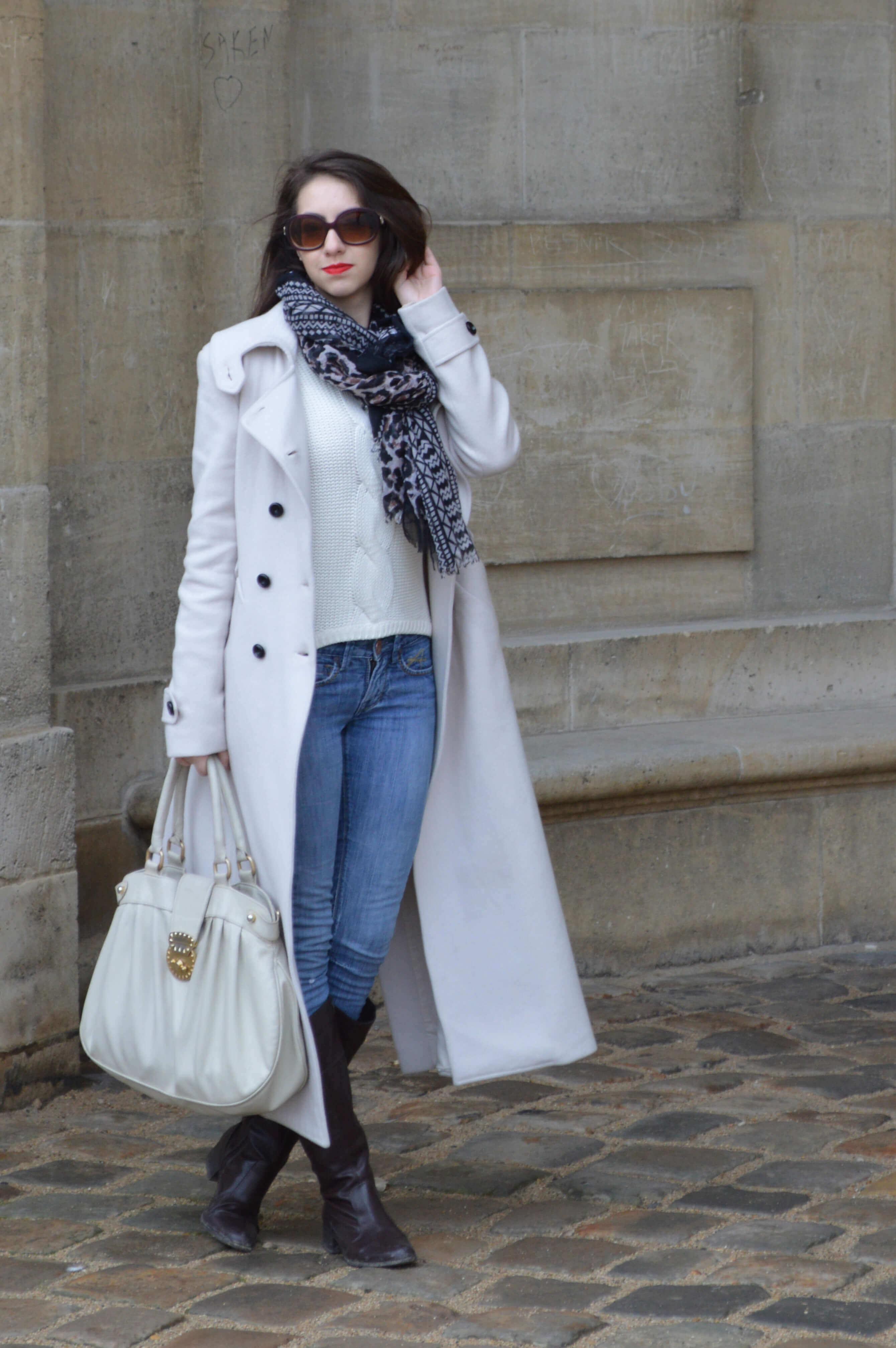 Look do dia em Paris o château de Vincennes - Inverno 2014