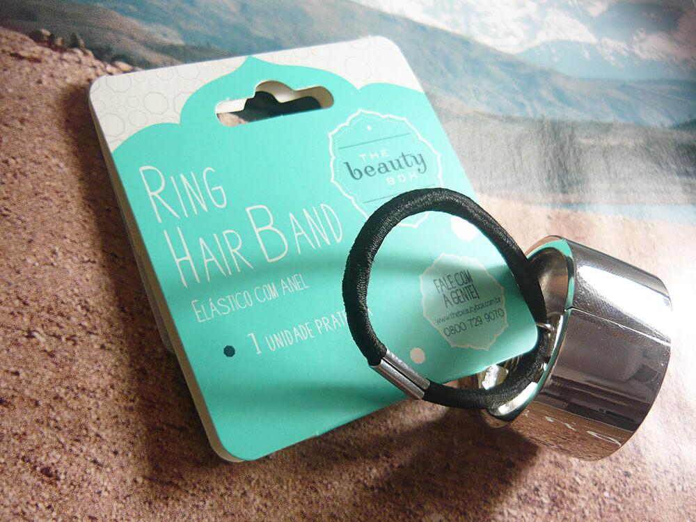 Ring Hair Band - Acessório para cabelos da The Beauty Box