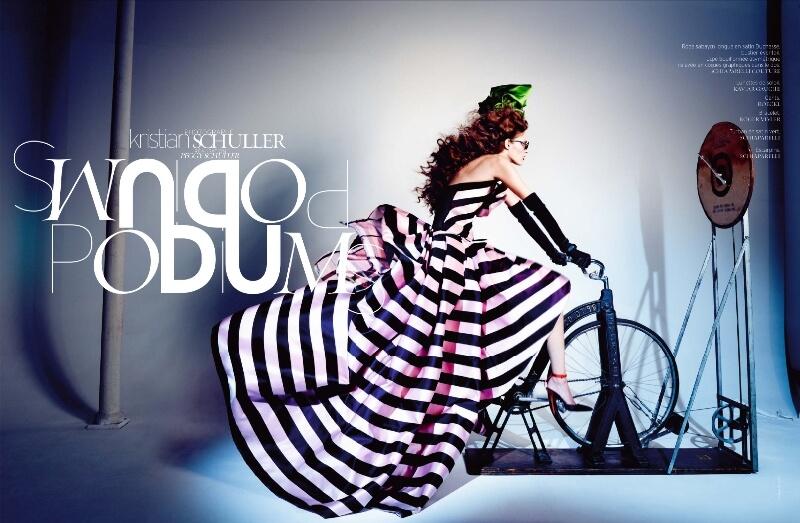 French Revue de modes - Editorial de FW 2013.14