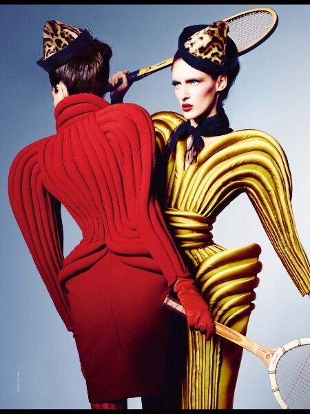 Editorial de moda da Revue de Modes - FW 2013.14