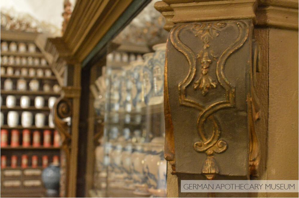 Museu alemão da farmácia no Castelo de Heidelberg