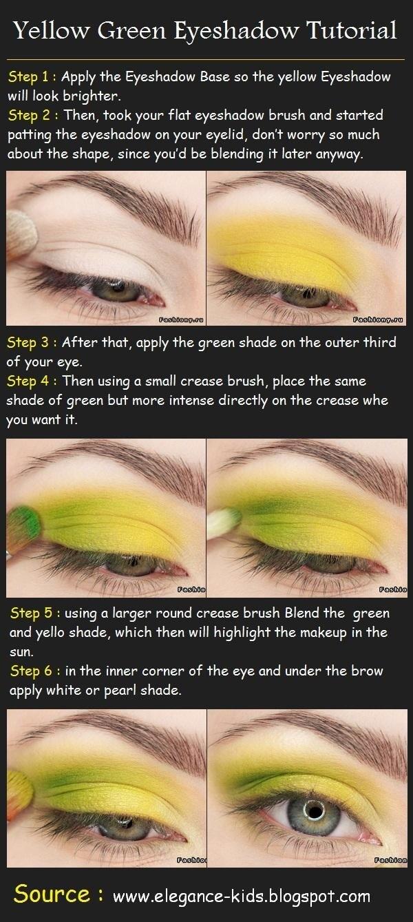 Tutorial de  Maquiagem verde e amarela para a Copa do mundo no Brasil