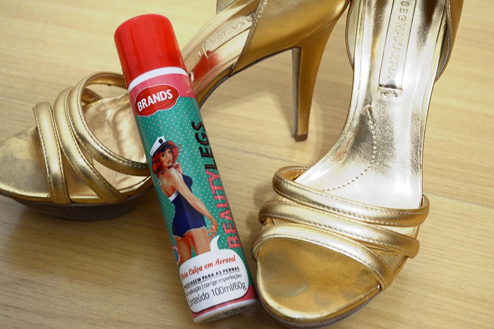 Beauty Legs: meia calça em aerosol