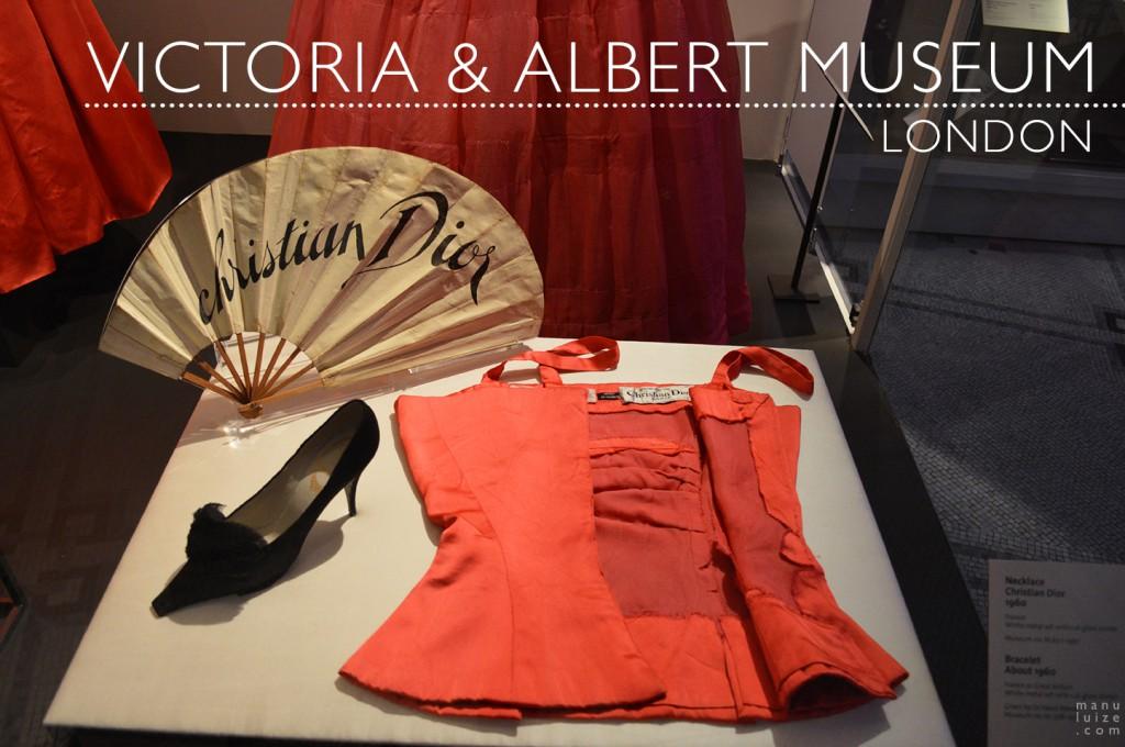 Christian Dior no Victoria & Albert Museum em Londres