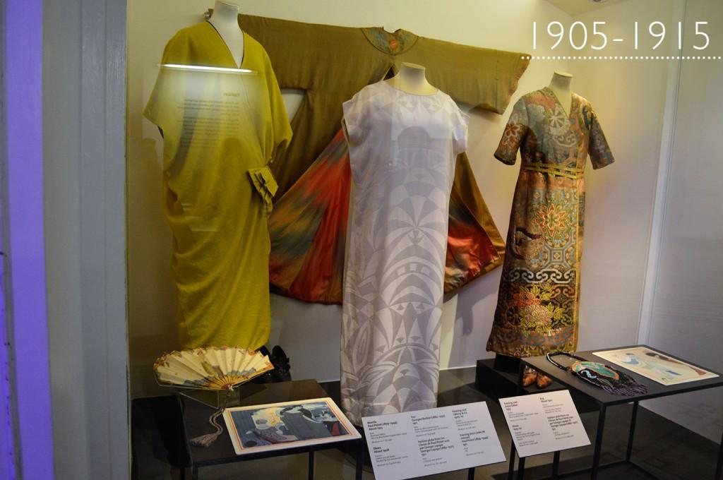 Coleção de moda: 1905-1915 no Victoria & Albert Museum em Londres