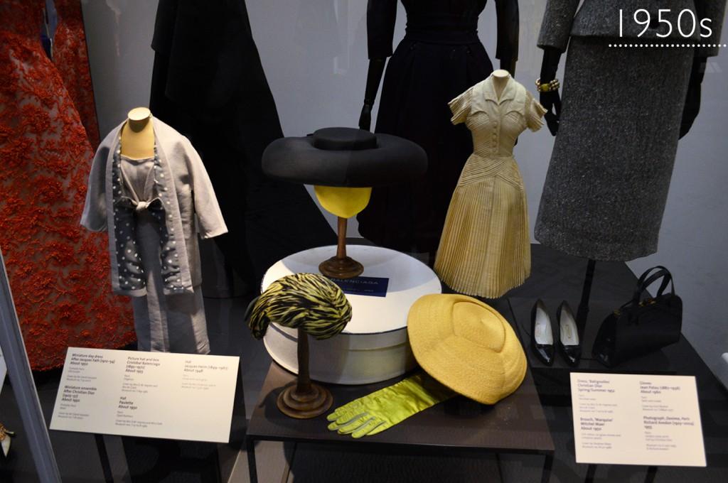 Coleção de moda do V&A Museum: 1950s