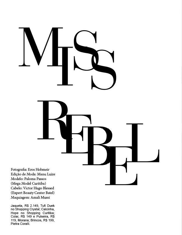 "Editorial ""Miss Rebel"": Tendência - Punk no Inverno 2014"