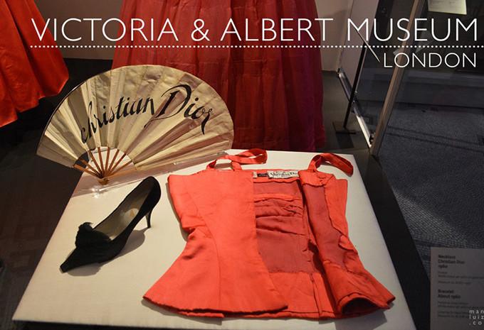 A coleção permanente de moda do Victoria & Albert Museum