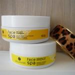 Face Spa Sabonete Mel Peeling Facial e Mel de Massagem Facial da Valmari