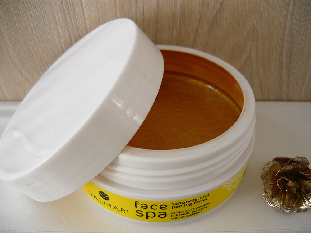 Valmari Face Spa sabonete mel peeling facial
