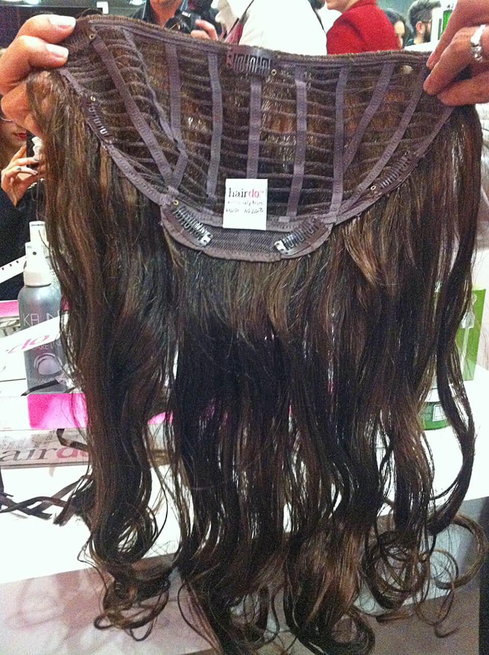 Aplique da Hairdo no aniversário d eum ano da Fever Beauty em Curitiba