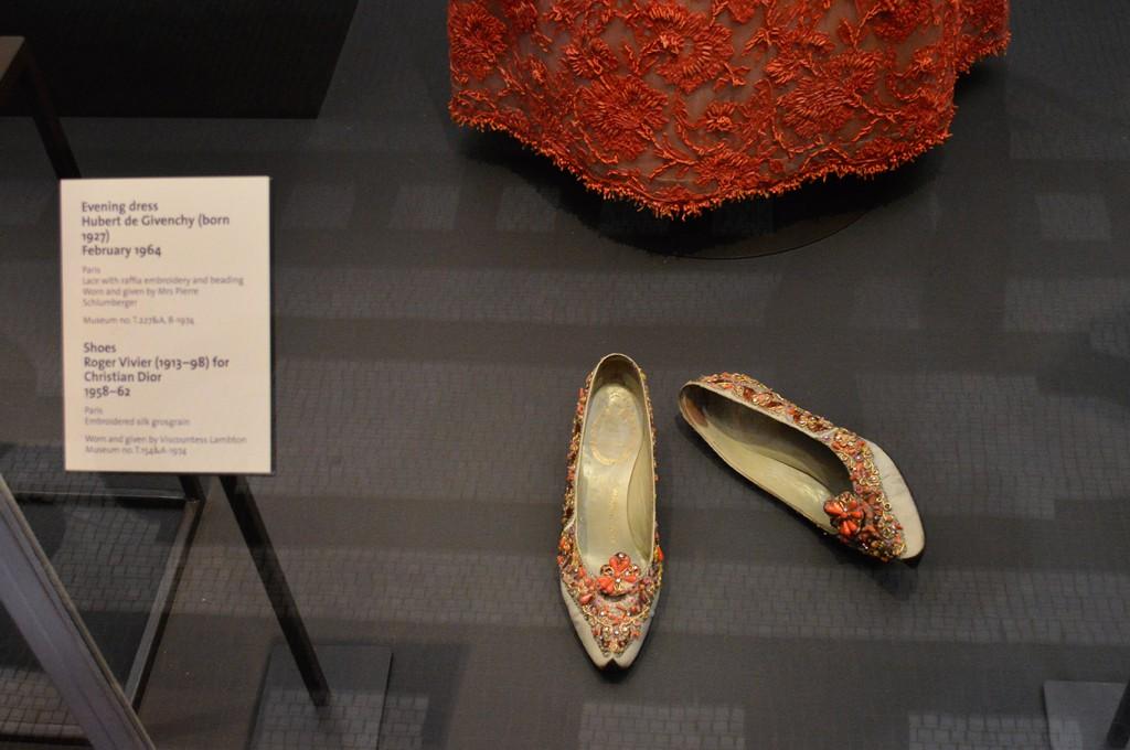 Sapatos Roger Vivier para Dior