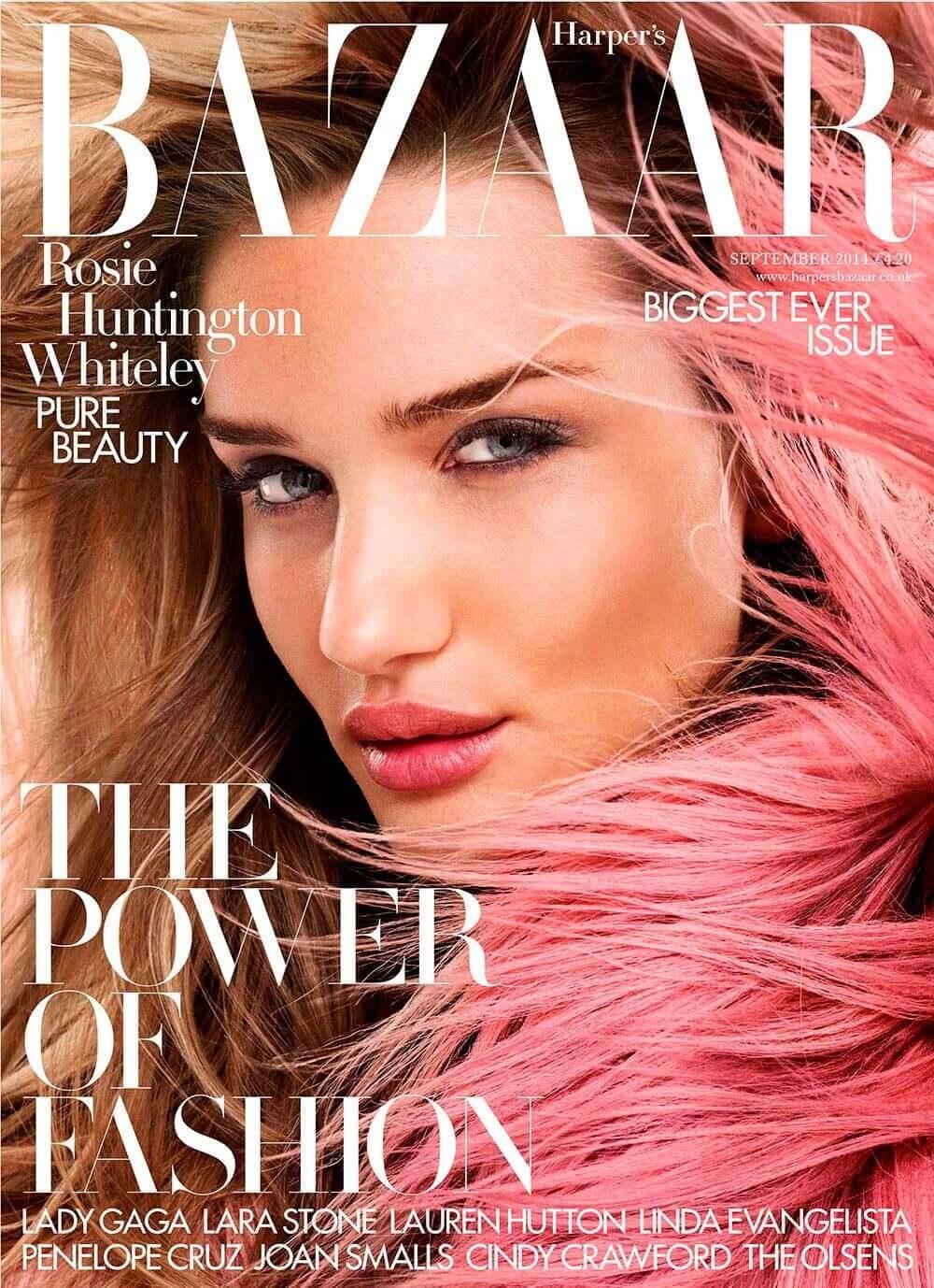 Harper's Bazaar UK - September 2014 cover