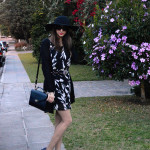 Look do Dia: Vestido preto & branco