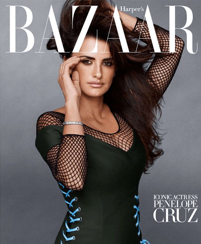 US Harper's Bazaar September 2014 cover - Penelope Cruz