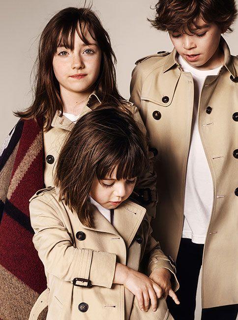 Burberry Childrenswear Campaign A/W 2014