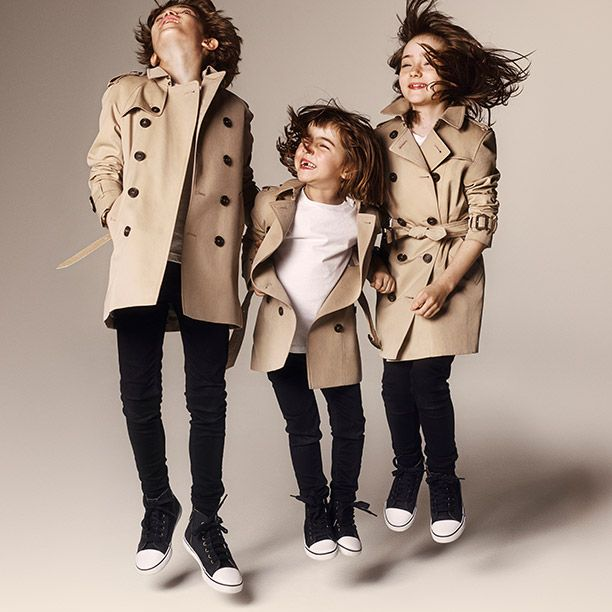 Burberry Childrenswear Campaign