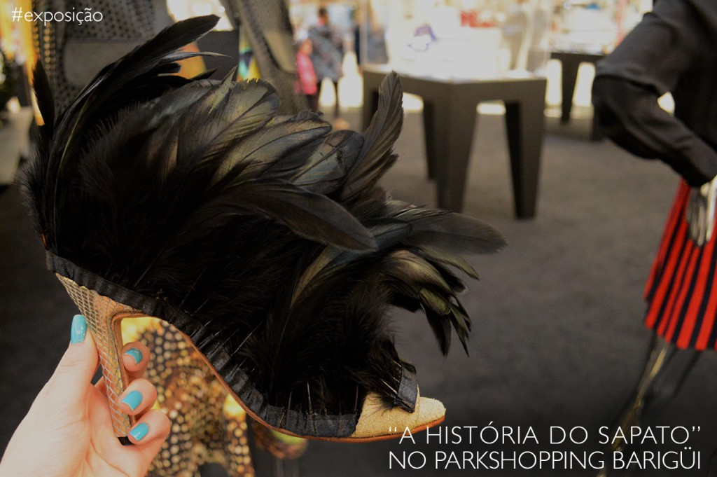 Exposição A História do Sapato no Parkshopping Barigüi em Curitiba