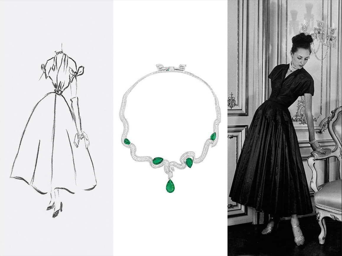 """Dior lança nova coleção de alta joalheria: """"Archi Dior"""""""