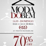 Bazar Moda do Bem em Curitiba: Marcas com até 70%
